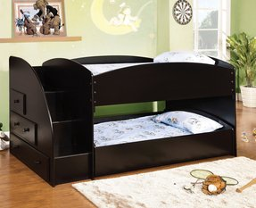 Double twin bunk bed 1