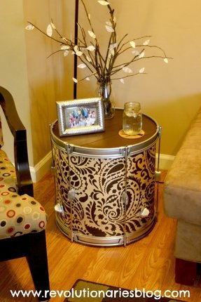 Drum side table 10