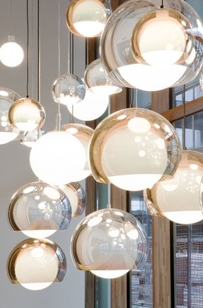 Glass globe pendant light foter glass globe pendant light 1 aloadofball Choice Image