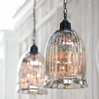 Glass globe pendant light 2