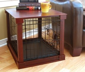 Haute paws ronan dog crate ii
