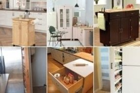 Kitchen Cabinets On Wheels - Ideas on Foter
