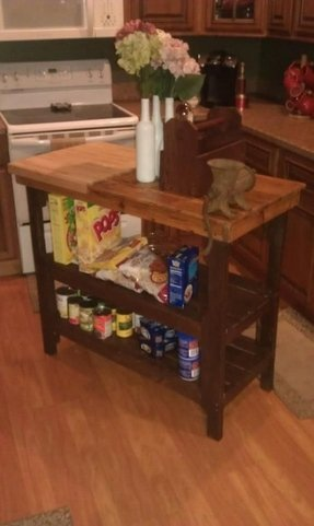 Kitchen Island With Cutting Board Top - Ideas on Foter