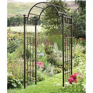 Metal Garden Arch Trellis 1