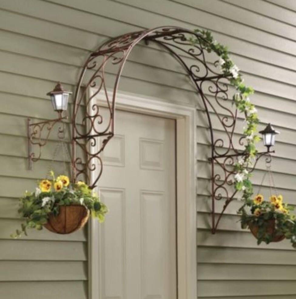 Metal Garden Arch Trellis