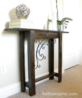Narrow foyer tables