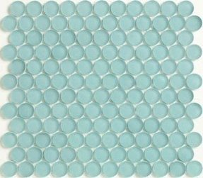 Penny tile sea glass