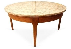 Round marble coffee tables for sale