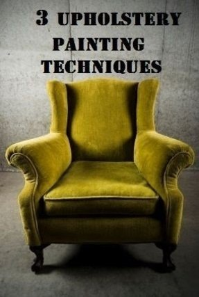 Slipcovered wingback chair 7