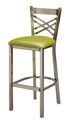 Incredible Steel Upholstered Bar Stools Ideas On Foter Inzonedesignstudio Interior Chair Design Inzonedesignstudiocom