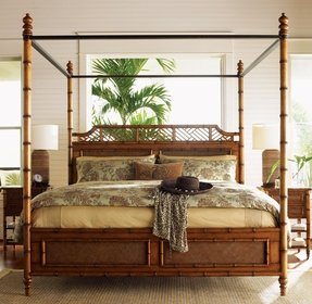 Tommy bahama home island estate west indies four poster bed