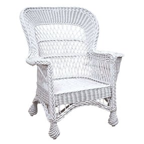 White Wicker Bassinet Foter