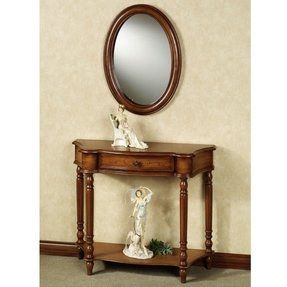 Foyer Table And Mirror Set - Foter