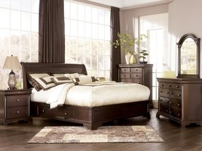 Bedroom ideas with cherry wood furniture