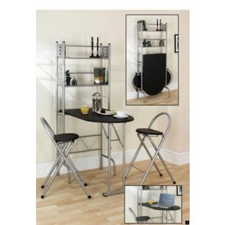 Breakfast Bar With Storage 9