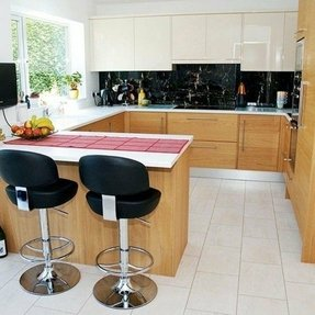 Breakfast Bar With Storage Ideas On Foter