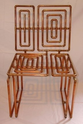 Copper furniture 19