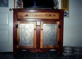 Rustic Microwave Cart Foter