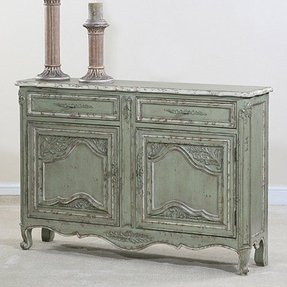 French country sofa table