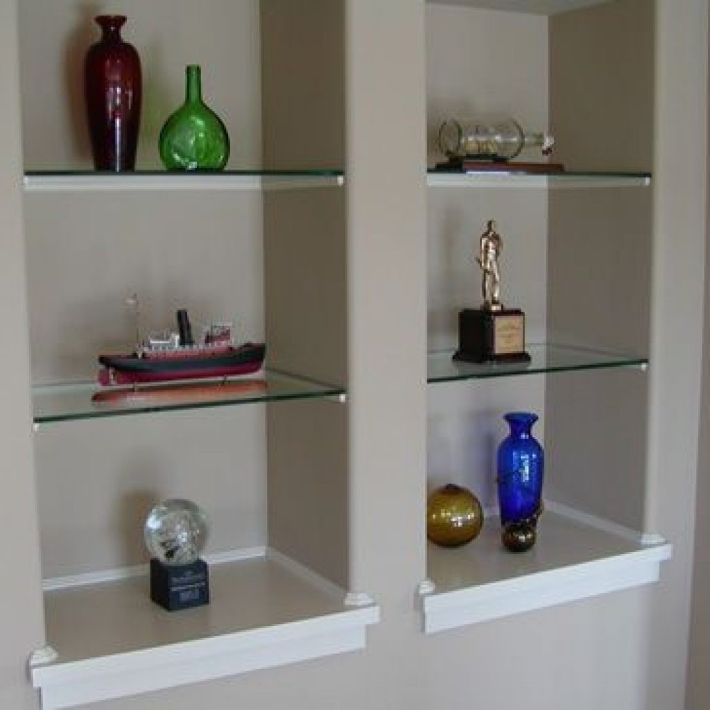Glass Wall Shelves For Living Room 2