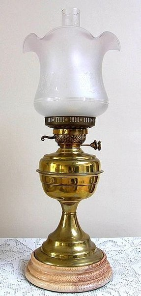 Vintage Brass Oil Lamp Ideas On Foter