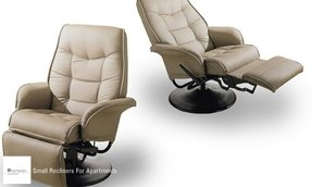 SmallLeatherRecliners