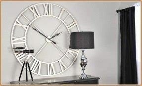 This oversized wall clocks modern is categorized within home with