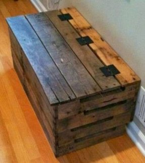 Toy box wooden 2