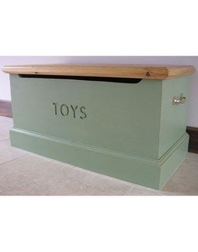 Toy box wooden 6