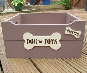 Toy box wooden