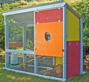 Urban chicken coop kit 6