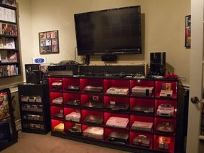 Video game bedroom decor