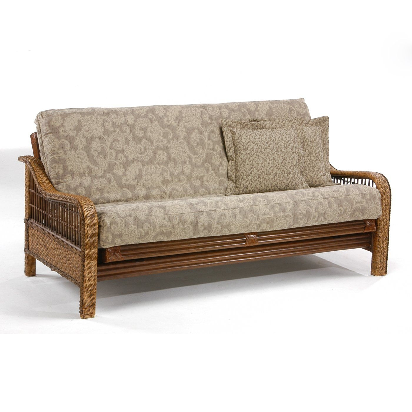 wicker-futon-bed