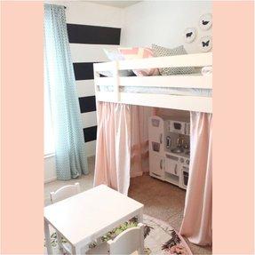 lovely toddler girl beds. A little girls haven bedroom love the idea of Girls Princess Bunk Bed  Foter