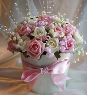 Artificial flower arrangement 2
