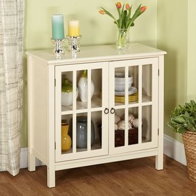 Buffet Cabinet With Glass Doors - Ideas on Foter