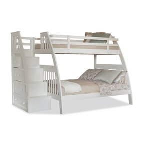 Bunk bed twin over full with stairs 2