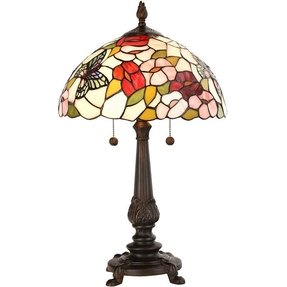 Dale tiffany butterfly table lamp