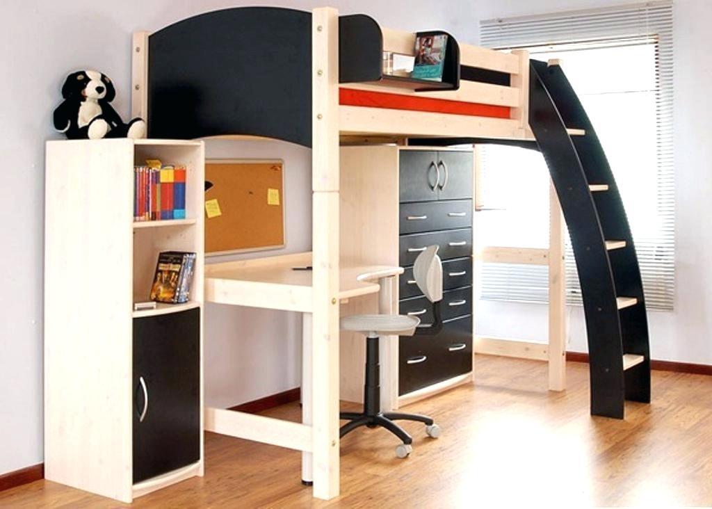 loft bed with desk and dresser foter rh foter com bunk bed with storage and desk loft bed with storage and desk underneath