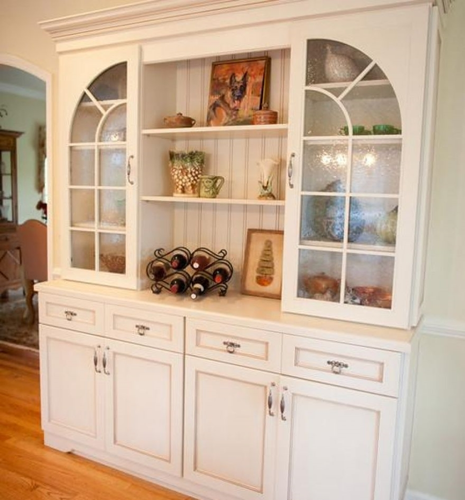 Glass Front Buffet Sideboard