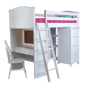 Loft Bed With Desk And Dresser Ideas On Foter