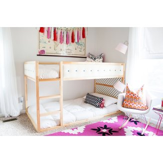 Low twin bunk beds