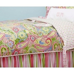 Paisley bed in a bag
