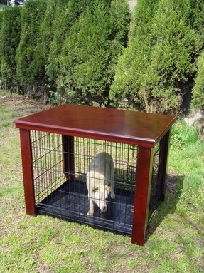 Pet crate table 4
