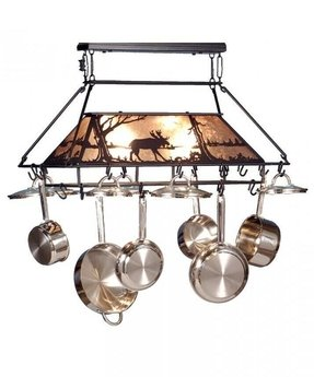 Pot racks with lights 7
