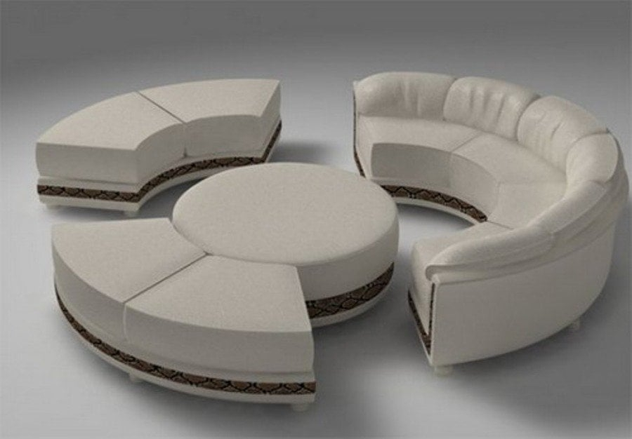 Great Round Sectional Sofas 1