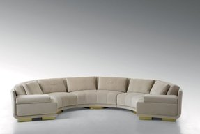 Round sectional sofas 28