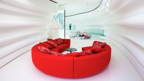 Round sectional sofas 7