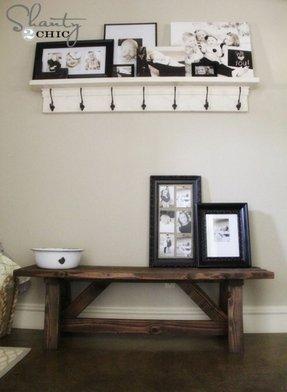 Shelf And Coat Rack Foter