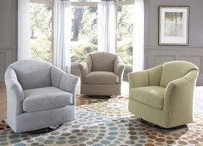 Swivel glider chair nursery 31